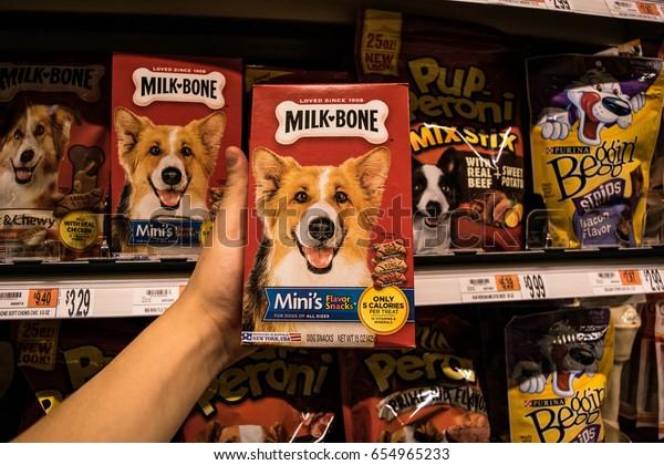 Boston Mausa May 28 Milkbone Dog Stock Photo (Edit Now