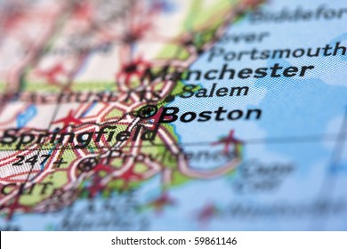 Boston on the Map