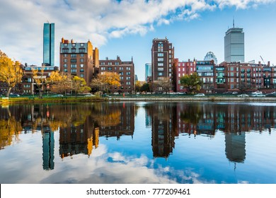 Boston Reflection Waterfront