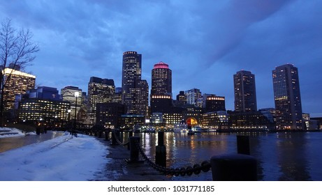 Boston River view