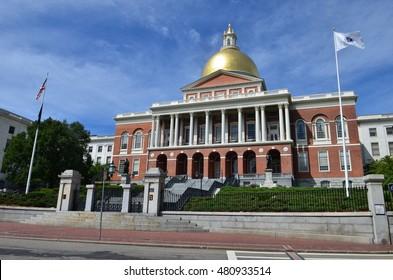 Boston - September 4, 2016: Street view, Boston, USA