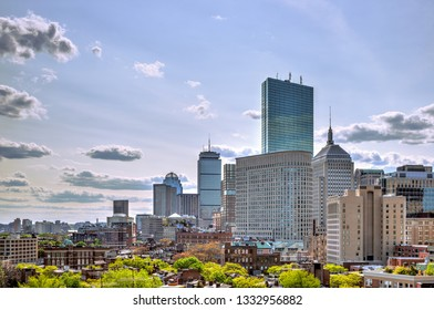 Boston skyline, Back Bay business district