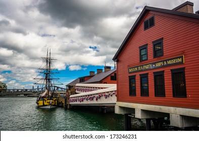 The Boston Tea Party Museum, in Boston, Massachusetts.