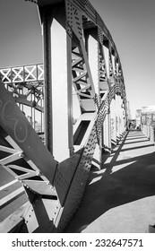 Boston University Bridge in Black and White