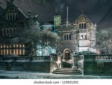 Boston University's Tudor Revival mansion The Castle