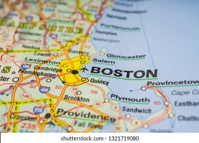 Boston City Map Stock Photos, Images & Photography ... on transportation on usa, flag on usa, people on usa, population density on usa, weather on usa, compass on usa, equator on usa,