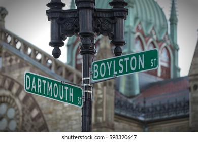 Boston's Streets Signs