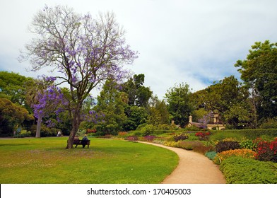 Botanic Garden in Melbourne, Victoria, Australia