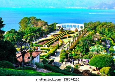 Botanic garden, Oedo island, Korea. Odeo is former private island in South Korea
