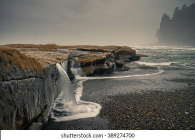 Botanical Beach, Juan de Fuca Trail, Port Renfrew, BC, Vancouver Island Canada, Wild West Coast