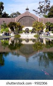 Botanical garden at Balboa Park in San Diego California