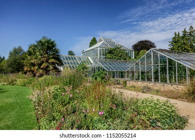Botanical garden in Cambridge, England