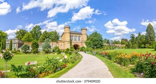 Botanical garden, Karlsruhe