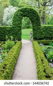 Botanical garden in Muenster, Germany