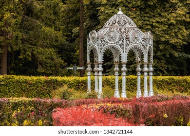 English Garden Gazebo Images, Stock Photos & Vectors