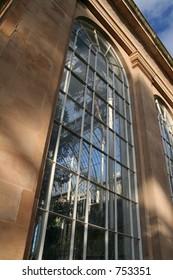 Botanical Gardens Glasshouse Window