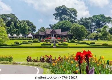 Botanical gardens Kebun Raya in Bogor, West Java, Indonesia
