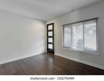 Bothell, WA / USA - Sept. 3, 2019: Empty residential interior