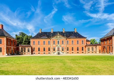 Bothmer Palace in Baroque style near Klutz in Germany