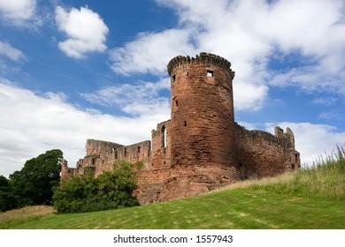 Bothwell Castle, Lanarkshire, Scotland, a former stronghold of the Douglas family.