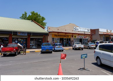 BOTSWANA, FRANCISTOWN, OCTOBER 28: Peoples on street in the second largest city in Botswana, October 28, 2014, Botswana
