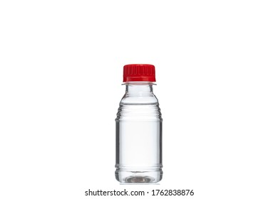 Bottle of 96% medical alcohol against viruses.
