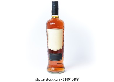 Bottle of dark rum