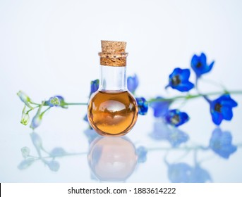 Bottle with essential aroma oil