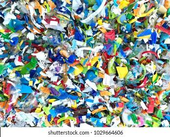 Bottle flake,PET bottle flake,Plastic bottle crushed,Small pieces of cut colorful plastic bottles