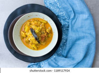 Bottle Gourd curry with mustard sauce