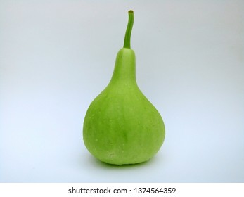 Bottle Gourd is vegetable that can be used to cook many things, whether it is boiled, dip in chili paste, topped with sour soup, stir-fried with gourds etc. Phrae Thailand.