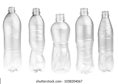 bottle isolated on white background.