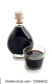 bottle of italian balsamic vinegar