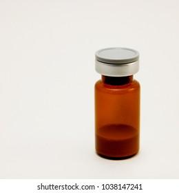 the bottle of medicine