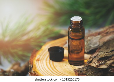 bottle with pine bark extract