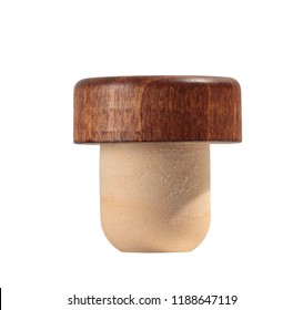 bottle stopper isolate on white background with clipping path included