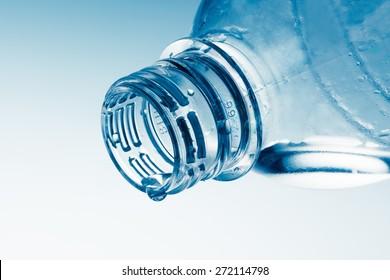Bottle, Water, Empty.