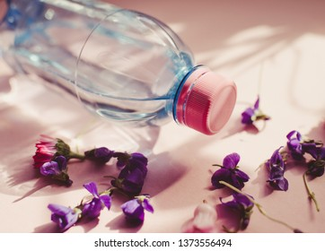 Bottle water/toned photo