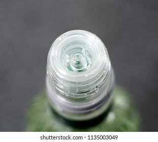 Bottleneck of Vodka Bottle