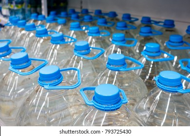 bottles of 5 liters of water
