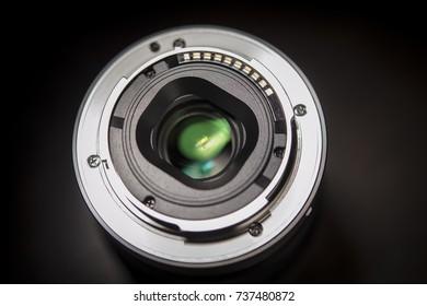 bottom camera lens Selective focus