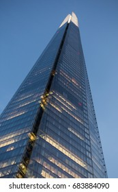 Bottom of The Shard Looking Up