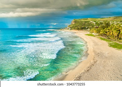 Boucan Canot Beach at Reunion Island, Africa