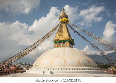 Boudhanath stupa in Katmandu