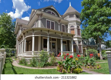 BOULDER, CO - AUG 16::  The home of Mork from Ork in the popular TV sitcom Mork & Mindy following the death of comedian, film & TV star Robin Williams on August 16, 2014.