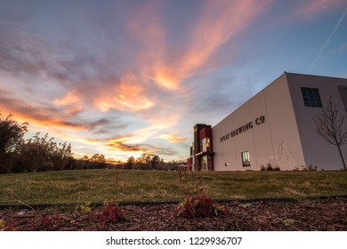 Boulder, Colorado - October 28, 2018 : Avery Brewing Company, a beautiful brewery and restaurant in Boulder.
