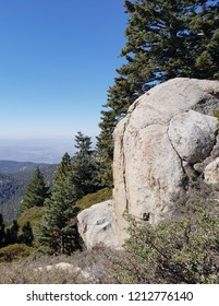 Boulders on a mountain side, California