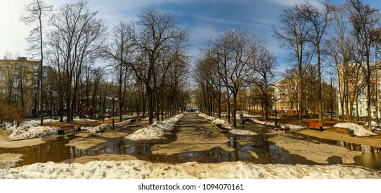 The boulevard of old Moscow