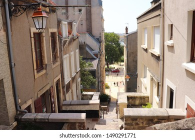 Boulogne-sur-mer, France - August 2019 : Beautiful Street