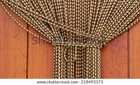 Bound Up Spanish Door Curtains Fly Screen From Andalusia